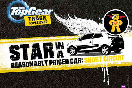 BBC Top Gear Track Experience - Star in a Reasonably Priced Car  Short Circuit Track Experience with Studio Access - Save 0%