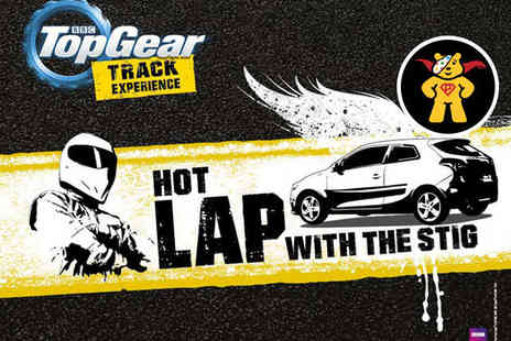 BBC Top Gear Track Experience - Hot Lap with the Stig Track Experience with Studio Access - Save 0%
