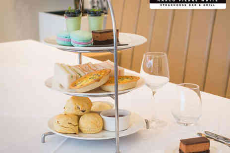 Marco Pierre White Steakhouse Bar & Grill - Festive Afternoon Tea for Two or Traditional Afternoon Tea with Glass of Prosecco Each  - Save 0%