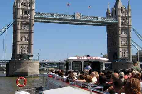 City Cruises - Thames River Red Rover Three Day Pass for a Child - Save 77%