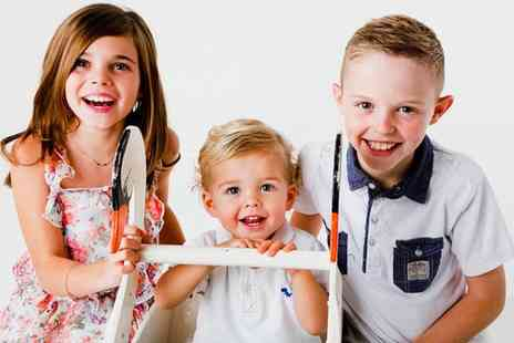 Seven Springs Studios - Festive Family Photoshoot with 12 Prints and an Option for 10 Christmas Cards  - Save 0%