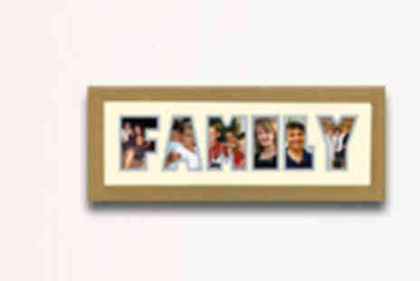Names In Frames - Personalised Photo Name Frame - Save 52%