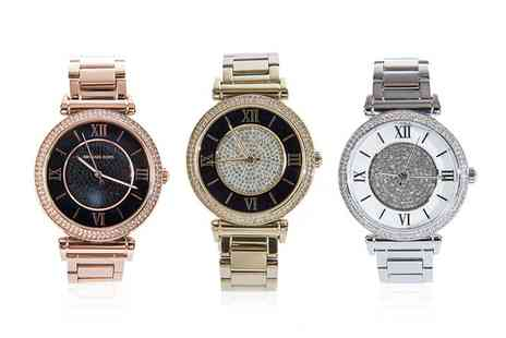 OUTLET PERFUMES - Michael Kors Ladies Watches in Choice of DesignWith Free Delivery - Save 33%