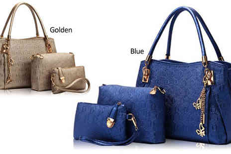 Stylematch Online - Three Piece Fashion Bag Set - Save 64%