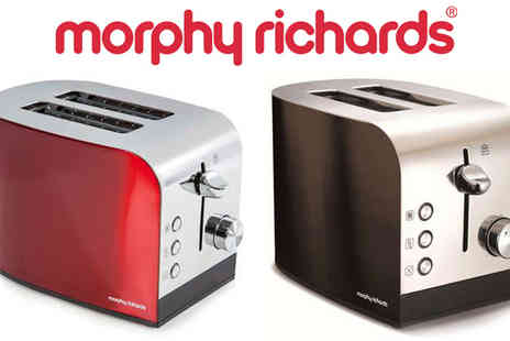 Giddy Aunt - Morphy Richards Accents 2 Slice Toaster - Save 0%