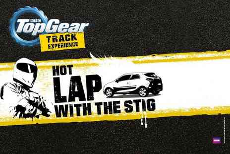 Top Gear Track Experience  -  BBC Top Gear  Hot Lap with The Stig experience and studio access  - Save 0%