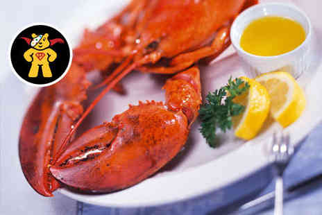 Fishers Restaurant - Whole Lobster and Glass of Prosecco Each for Two - Save 63%