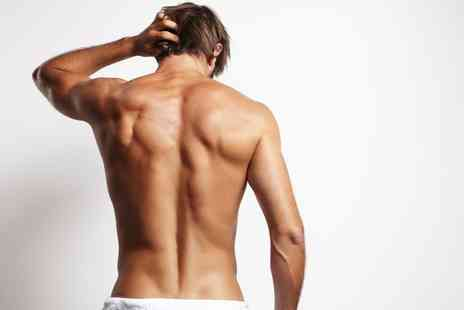 Go Go Brazilian - Male Waxing Back, Boyzilian or Both - Save 50%