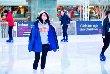 Liverpool One Ice Festival - 45 Minutes of Skating or Ice Slide - Save 25%