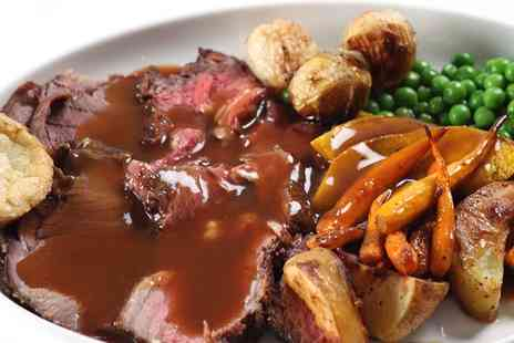 Buxton Palace Hotel - Three Course Sunday Lunch with Wine for Two - Save 0%