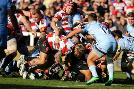 Gloucester Rugby - Tickets to see Gloucester take on either Zebre or Worcester - Save 40%