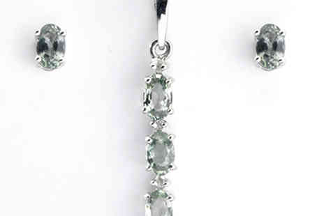 Lyncroft Marketing  - Anderson Plus Webb Rare Green Sapphire and Diamond Jewellery - Save 0%