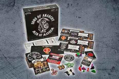 247Toys - Sons of Anarchy Men of Mayhem Battlefront Board Game - Save 23%