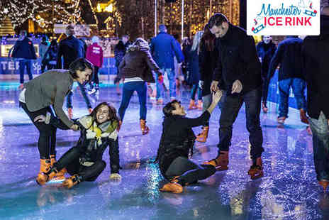 Manchester Ice Rink - Ice Skating with Skate Hire - Save 50%
