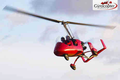 The Gyrocopter Experience - Gyrocopter Flying Experience - Save 35%