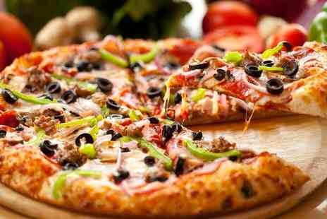 Veryfairyland - Two Pizzas with Beer, Wine or Soft Drink for Two - Save 0%