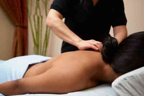 Butterfly Beauty - Twilight Leg and Back Massage, Facial or Both for One - Save 54%