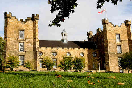 Lumley Castle Hotel - Overnight county Durham stay for two with cream tea and breakfast - Save 36%