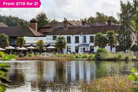 BEST WESTERN Frensham Pond Hotel - One or two night stay for  two with breakfast- Save 0%