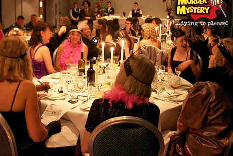 Murder Mystery Events - Three Course Meal and Disco Access - Save 0%