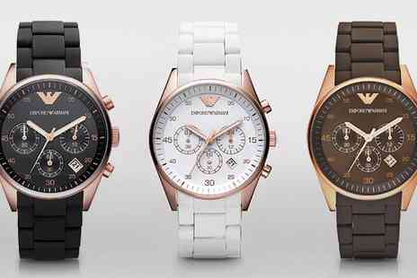I love watches - Mens and Ladies Emporio Armani Watch With Free Delivery - Save 56%