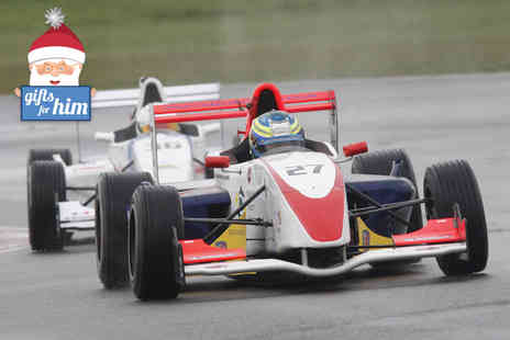 SWB Motorsport - Ten laps in a Typhoon Turbo and three laps in your choice of Formula car  - Save 50%