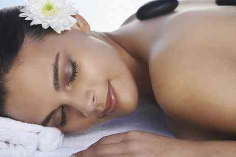 Butterfly Lounge - Hot Stone and Warm Bamboo Massage and a Mini Facial with Herbal Tea and Festive Treats  - Save 44%