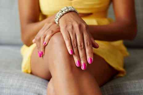 Steph at Clash Hair & Beauty - Shellac Manicure or Pedicure   - Save 0%