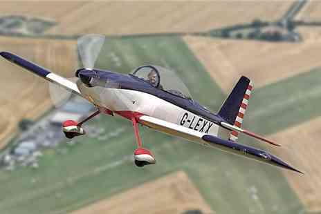 Sheffield Aero Club - The Gift Of Flight Special Occasion Flying Experience Package  - Save 53%