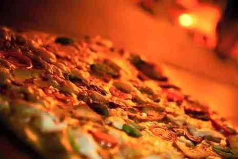 Scoops - Pizza or Pasta for Two or Four with Optional Meat Sharing Platter  - Save 52%