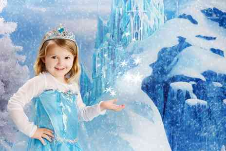 Photo Nottingham - Ice Princess Photoshoot With Photo Mug - Save 80%