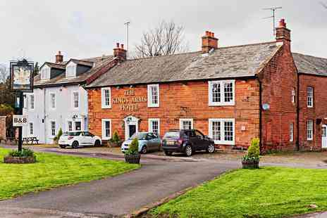 The Kings Arms Hotel - One to Three Nights stay For Two With Breakfast - Save 0%
