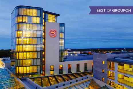Sheraton Athlone Hotel - One to Two Nights stay For Two With Breakfast and Credit Towards Meal and Spa Treatment  - Save 0%