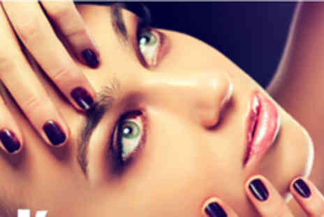 Eds Hair & Beauty - 90 minute pamper package including a facial and Brazilian mani & pedi - Save 67%