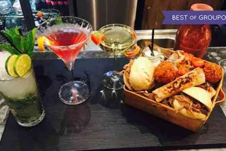 Fire Lake - Cocktail Masterclass with Two Cocktails, Prosecco and Food Platter - Save 38%