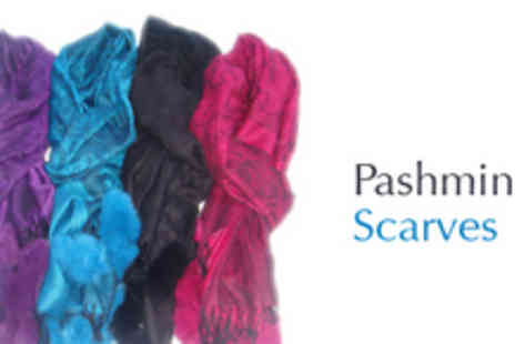 Gifts 4 U - Pashmina Scarf - Save 67%