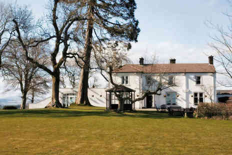 The Dryfesdale Country House Hotel - One or Two Night Stay for Two with Breakfast Daily and Cream Tea with Glass of Prosecco on Arrival - Save 70%