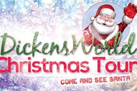 Dickens World - Entry to Dickens World  with a Drink for One Adult or One Child with Santa Experience - Save 47%
