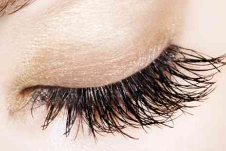 OMG Hair and Beauty - Semi Permanent Russian Eyelash Extensions Plus Brow Treatment  - Save 56%