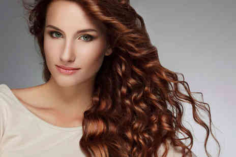 The Secret Salon - Haircut, Treatment and GHD Curls or Blow Dry - Save 68%
