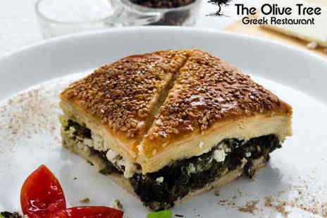 The Olive Tree -  Greek Food and Drink for Two - Save 61%