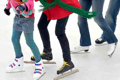 Telford Ice Rink - Ice Skating with Skate Hire for One or Family  - Save 58%