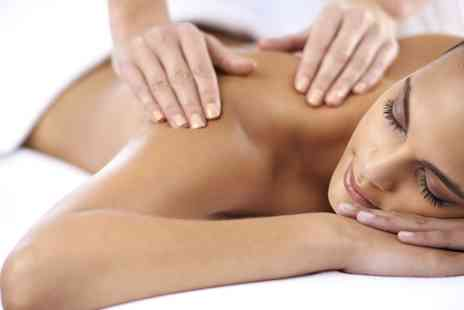 Elegance - Back Neck and Shoulder Massage or Swedish Massage  - Save 27%