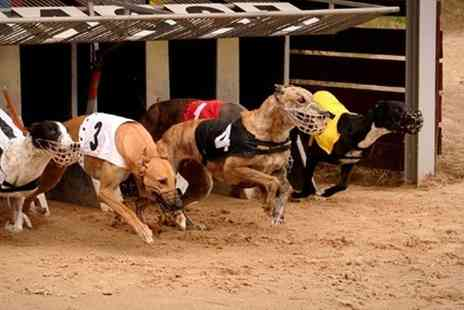 Henlow Racing - Henlow Greyhound Racing Entry with a Racecard and Meal for Up to Six  - Save 70%
