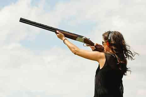 Champagne Shooting - London Clay Shooting Session For One - Save 51%