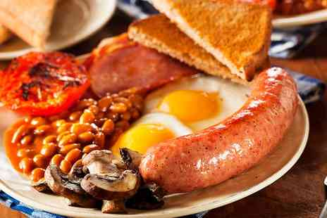 Church Green Kitchen - Full English Breakfast For Two - Save 34%