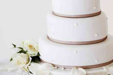 Beth Lauren Cakes - Three Tier Wedding Cake  - Save 74%