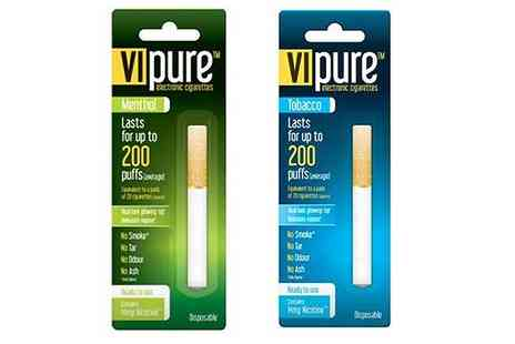 Rex Brown - Two VI Pure Disposable E Cigarettes With Free Delivery - Save 70%