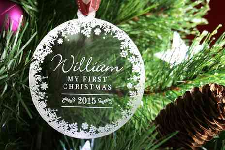 Inkables - Personalised Christmas Tree Decorations - Save 50%