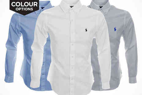 LivingSocial - Ralph Lauren Custom Fit Oxford - Save 41%
